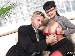 CEO of a company noticed Aletta Ocean and now he wants to tap that ass with his balls