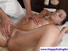 Beautiful goddess ravaged by her masseur