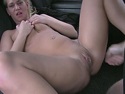 Blonde Linda fucked for her taxi fare
