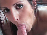 Slutty wife Lavender Rayne is sucking some dick