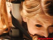 Femdom mistress punishes her sub with bastinado