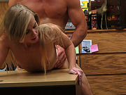 Hot sexy busty Blonde gets fucked hard