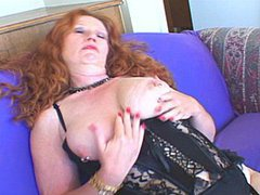 Redhead MILF Delivers A Sloppy Blow Job