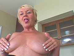 Busty Mature Babe Takes Surprise Fucking