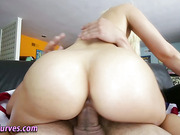 Teen blonde amateur fucks