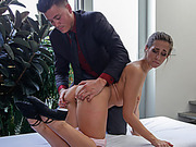 Ballet Student Cassidy Gets Fucked
