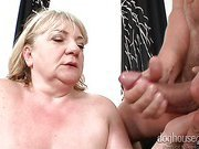 Best Of Cum Shots On Naughty Grand-Mothers! Caught On Cam!