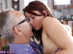Teen ho rammed by old man