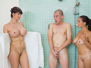 MILF Eva Karera is thirsty for hard cock sharing Shaes boyfriend