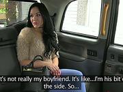 Damn cute girl Carmel gets a warm sex in the backseat