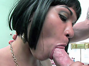 Curvy MILF Rosario Stone takes the cum on her Latina ass