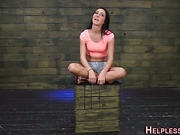 Tricked teen pounded hard