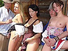 german mountain fuck fest orgy