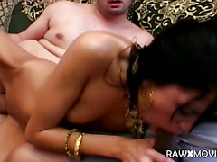 Indian Slut Fucked By Two