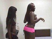 Strap on Black Amateur Lesbians