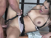 Slutty MILF Nataly Rosa gets her Latina pussy pounded