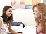 Puffy nipple redhead finds a girlfriend