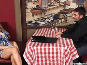 Madison Ivy gets rammed for tips