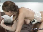 Beautiful Milf anal fucks till jizz