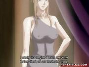 Busty hentai maid hot assfucking