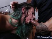 Teen dominated by schlong