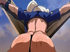 Hentai blondie gets whipped