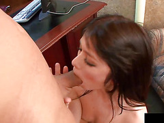 Ash loves to ride private jet of her boss and fuck hard