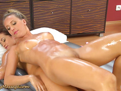 wild lesbian nuru massage sex