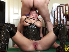 Dominated emo submissive facefucked