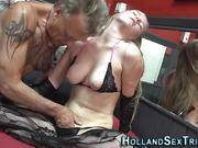 Teen hooker gets oral sex