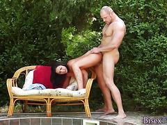 Bisex sluts tits cummed