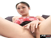 Evelyn Lin slender korean babe with cute face and tight pussy is banged hard