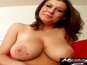 Sara Stone has the soft natural tits that work perfectly as hand exercisers for old man