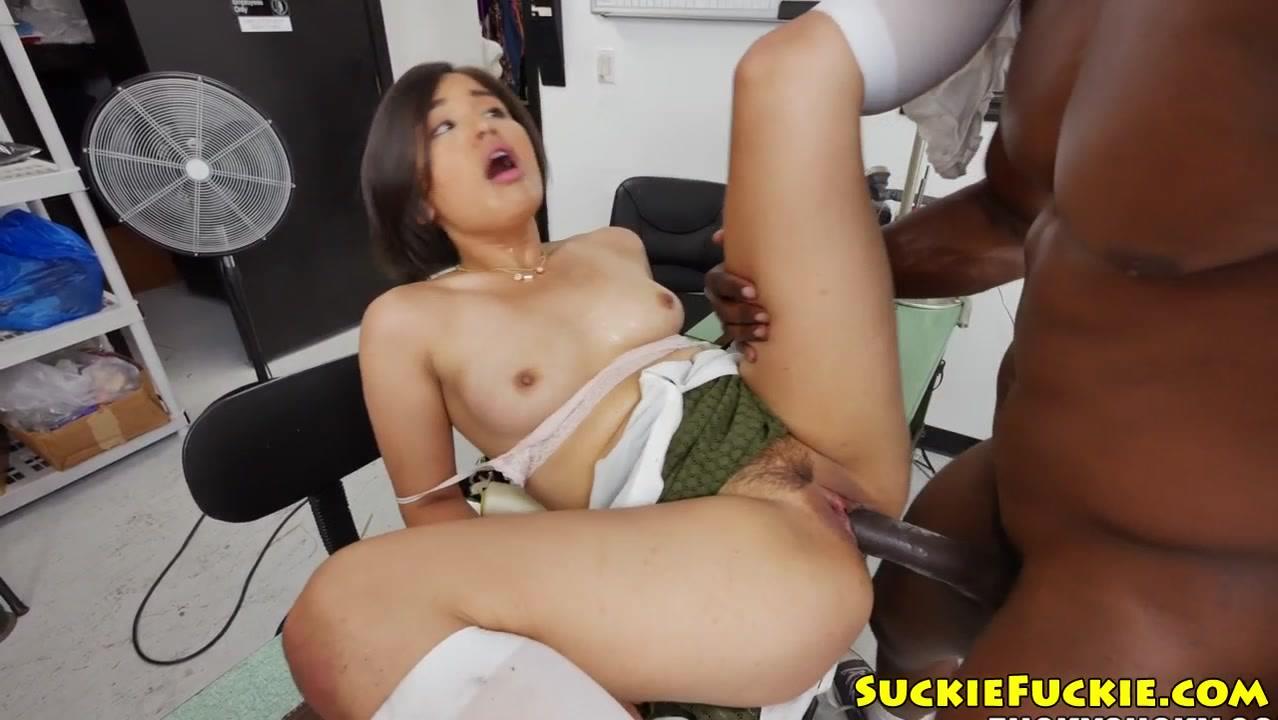 asian ass black dick