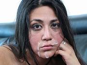 Latin babe Lexi Bandera disciplined with hard cock