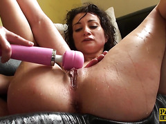 UK sub throated rough after massive squirting