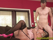 Bbw gets pussy pounded