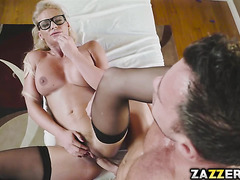 Preston's levels of arousal was being tested and banged Dr.Marie