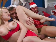 Huge boobs Milf bangs young dick