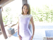 Alexis squirts milk, and ends up with ass full of cum