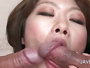 Asian ass and wet pussy toyed hardcore in close-up