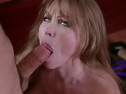 A dude must please his stepmom Darla Crane so he takes care of her pussy