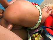 Blonde step sis Andrea Sultisz roughly banged