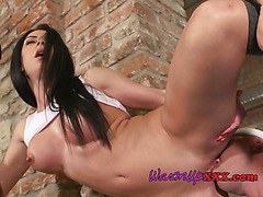 Slut Gets Impaled By Hung Personal Trainer