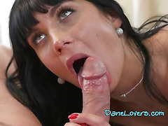 Chesty Assistant Valentina Ricci Gets Impaled By Boss