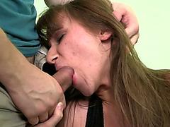 Horny bloke anal banging his smoking hot stepsister