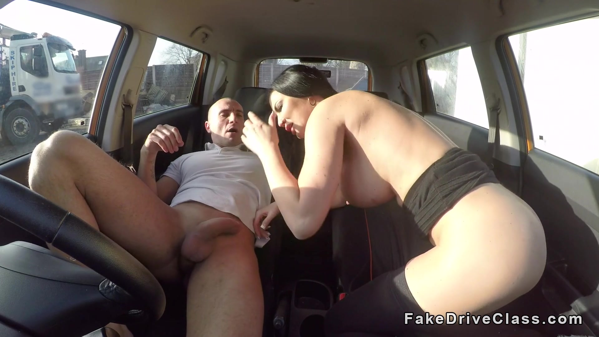 was specially registered cuckold filming his wife fucking in car think, you will