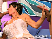 x9 Horny Mature Takes Two Coks
