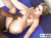 Avy Scott has a nice little treat with some black dick