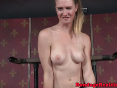 Dominated babe humiliated and punished